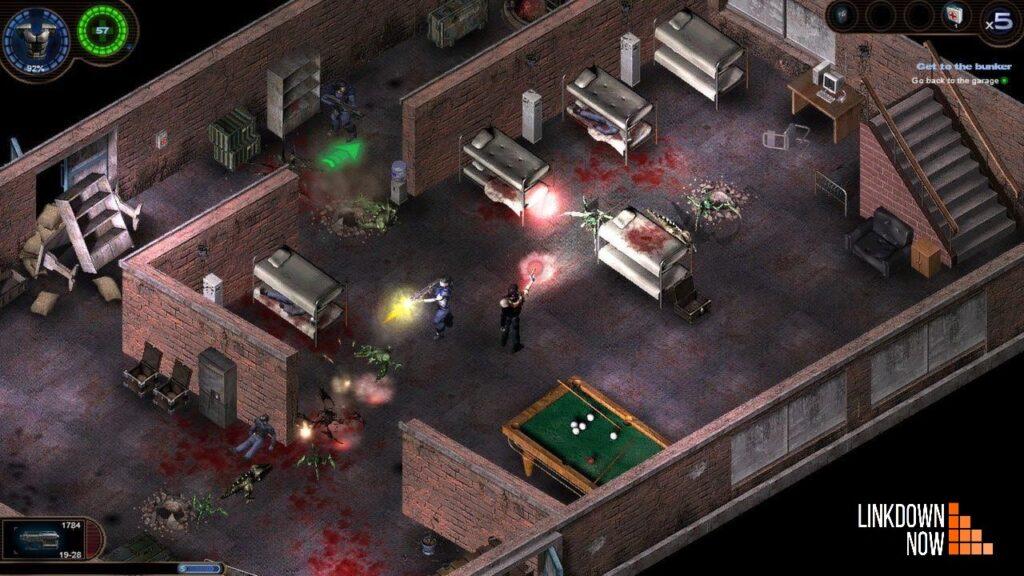 Game bắn súng tiêu diệt quái vật Alien Shooter