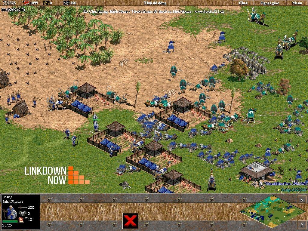 Hình ảnh game AOE 1.0