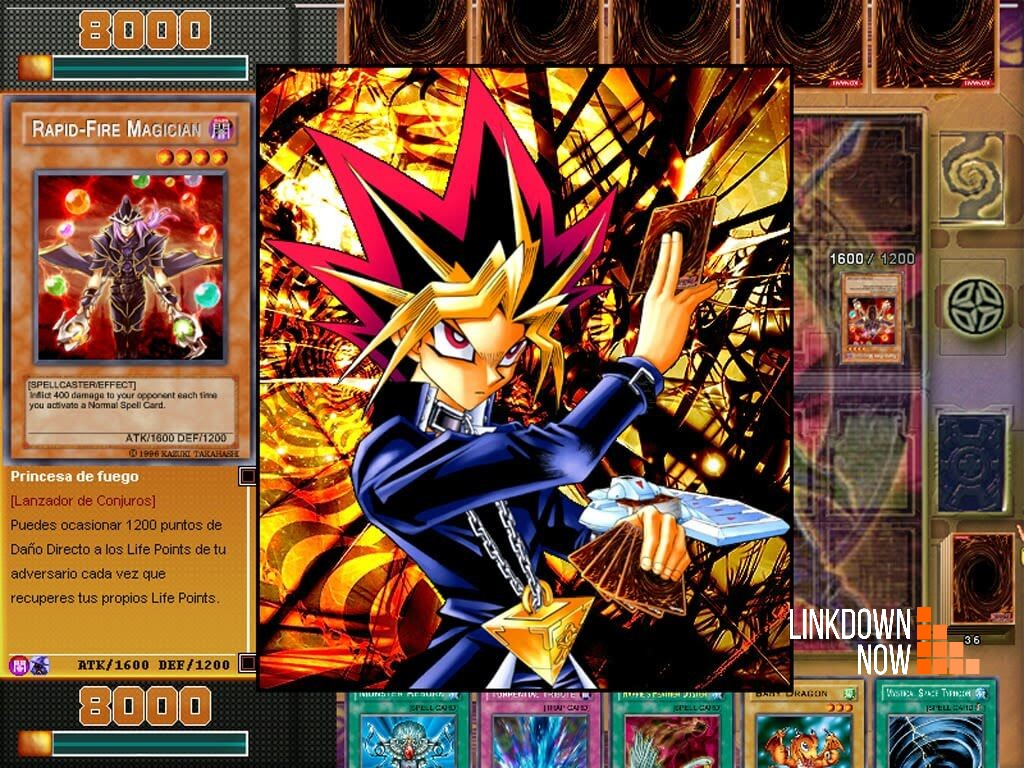 giao diện game Yugioh