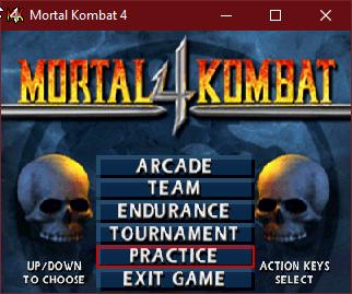 Hướng dẫn chơi Mortal Kombat 4