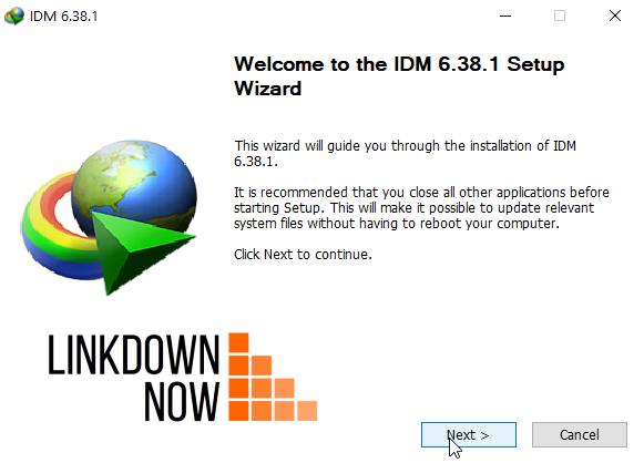 Cài đặt IDM cho PC