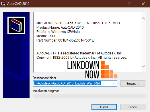 Tải AutoCAD 2010 English 64bit