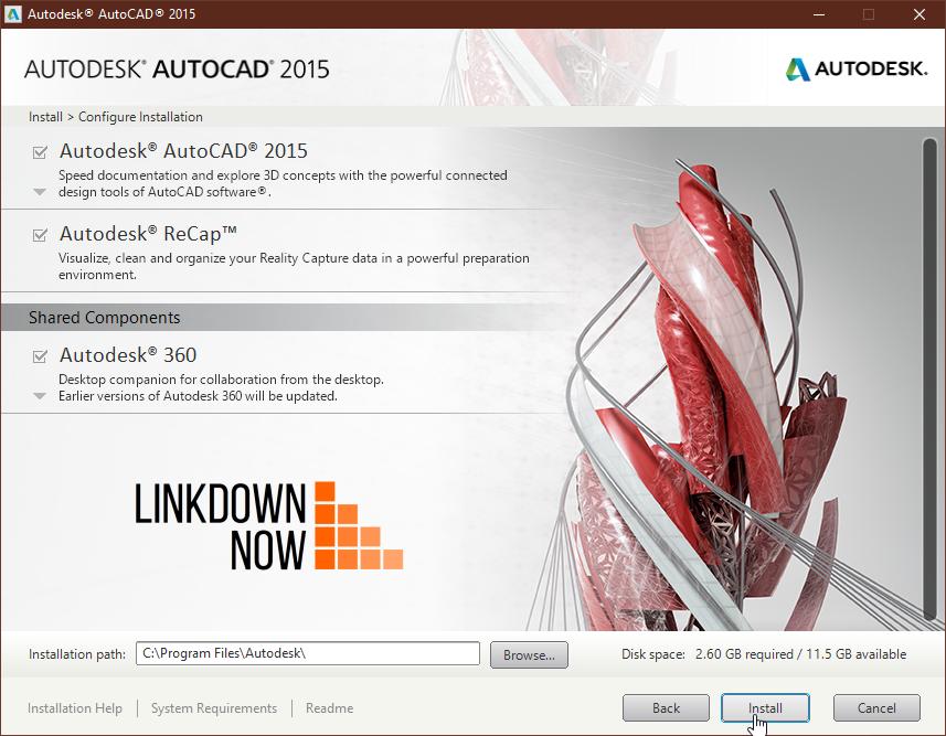 AutoCAD 2015 64-bit