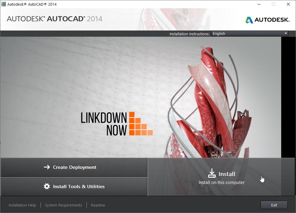 Hướng dẫn cài đặt AutoCAD 2014 Crack
