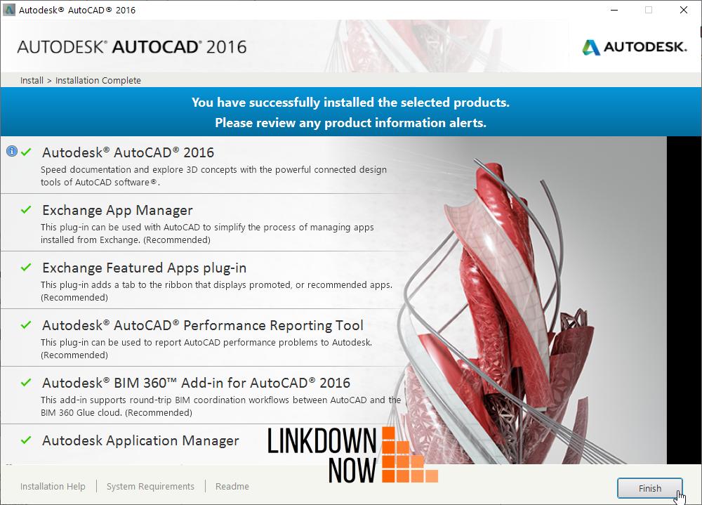 tải phần mềm AutoCAD 2016 bản quyền