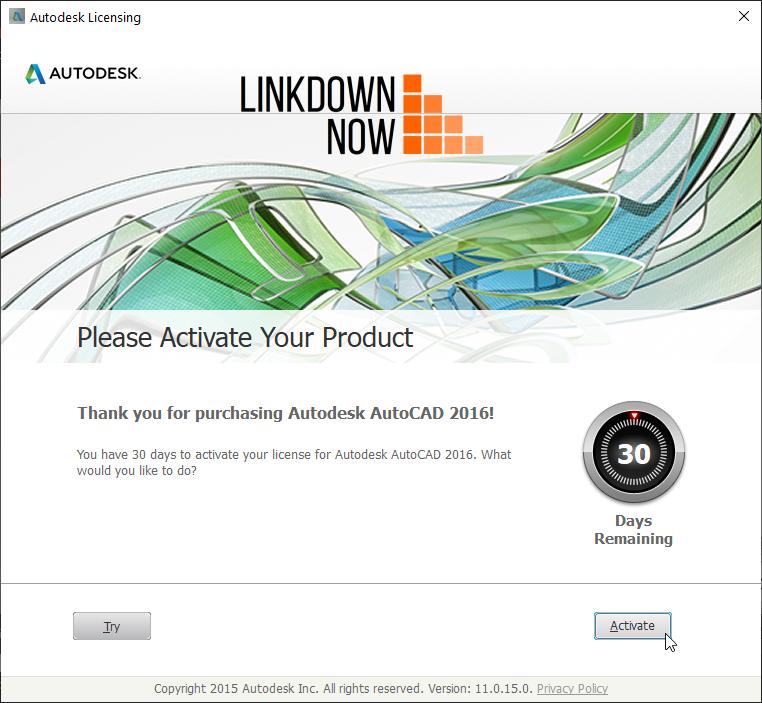Download AutoCAD 2016 Keygen