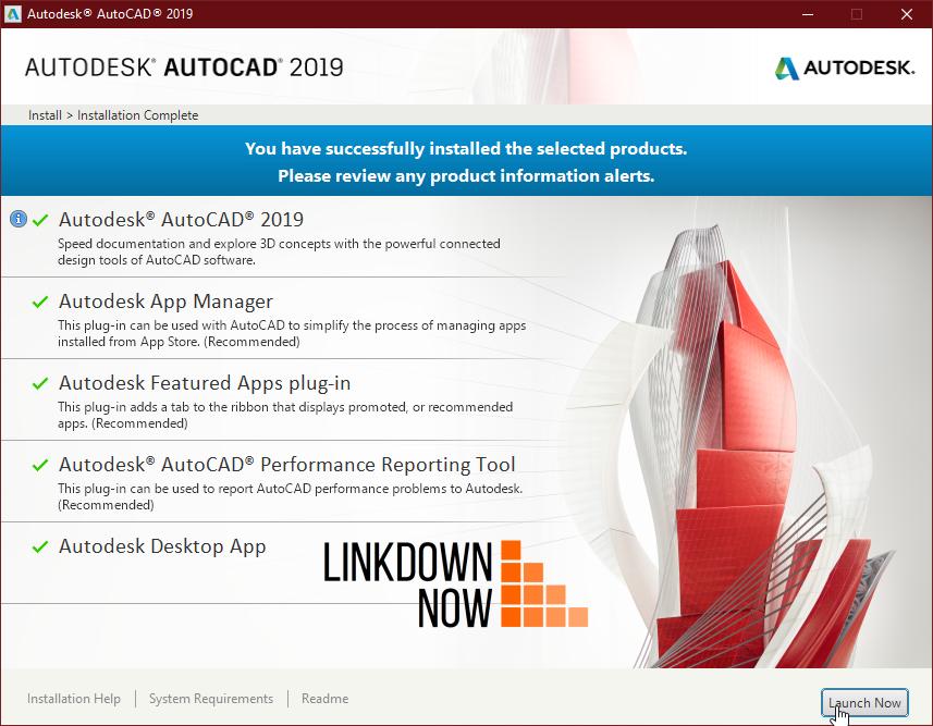 Hướng dẫn cài đặt AutoCAD 2019
