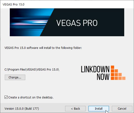 Tải Vegas Pro 15