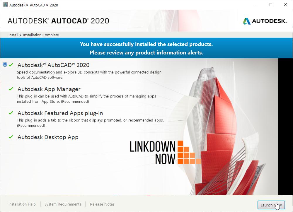 AutoCAD 2020 vĩnh viễn