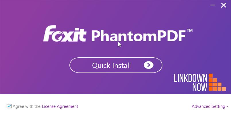 Cài đặt Foxit PhantomPDF Full Crack