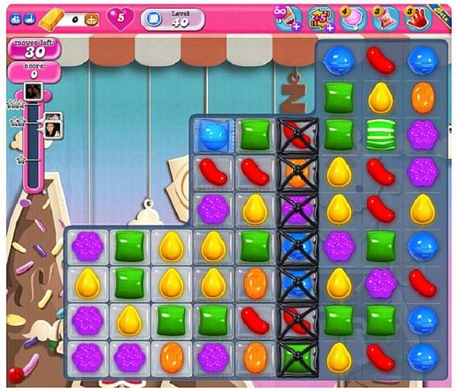 Nghiền kẹo của Candy Crush Saga