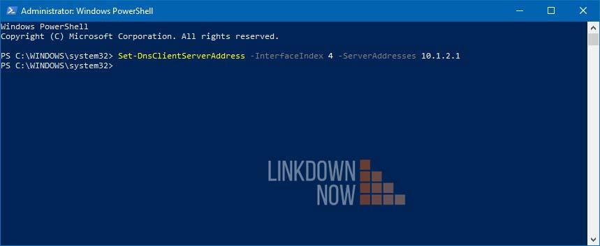 Gán địa chỉ máy chủ DNS