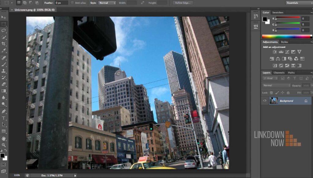 Phần mềm chỉnh sửa hình ảnh Photoshop 2018