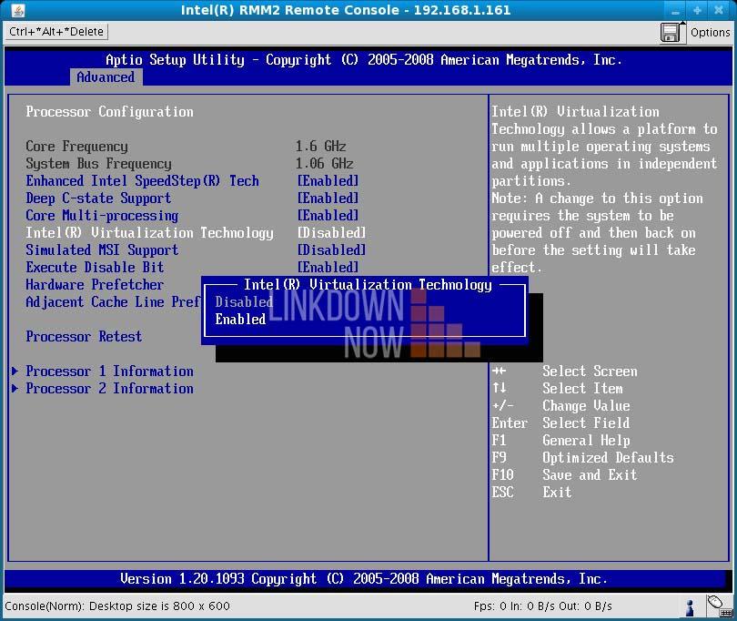Bật ảo hóa từ BIOS