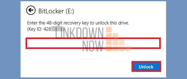 Reset mật khẩu BitLocker