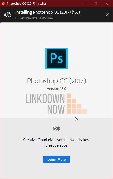 File cài đặt Photoshop CC 2017