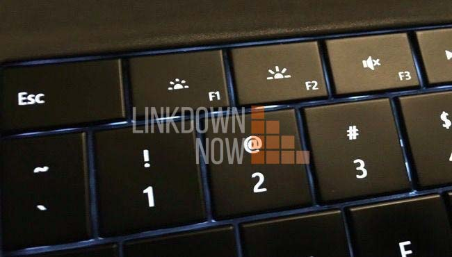 Điều chỉnh độ sáng bằng phím cứng Fn + F(1-12)