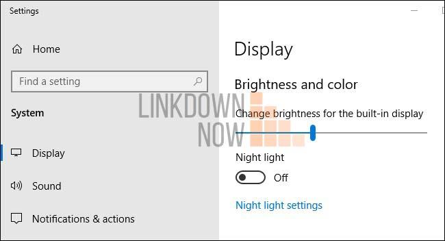 Cài đặt ứng dụng điều chỉnh độ sáng trên Windows 10