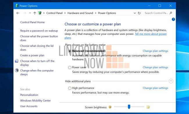 Sử dụng Control Panel trên Windows 7 hoặc 8