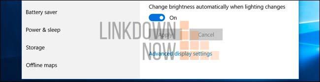 Cách tự động điều chỉnh độ sáng dựa trên ánh sáng xung quanh