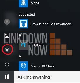 Tắt Cortana từ ứng dụng Setting