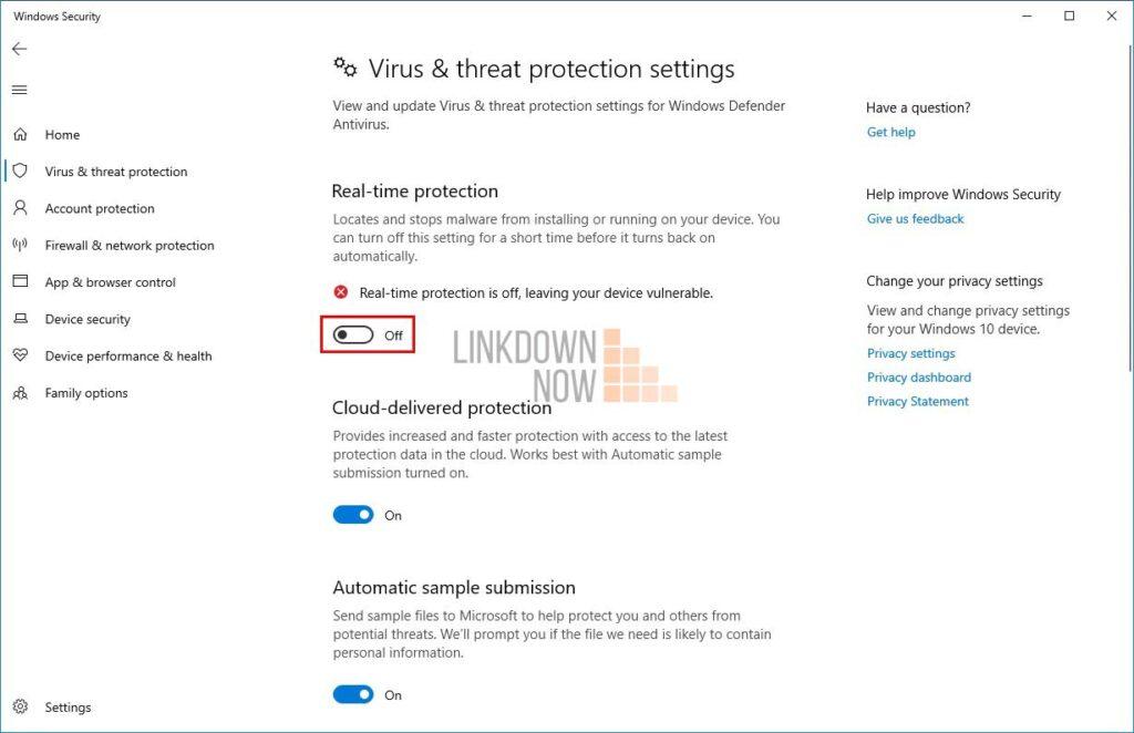 Cách tắt vĩnh viễn Windows Defender trong Windows 10