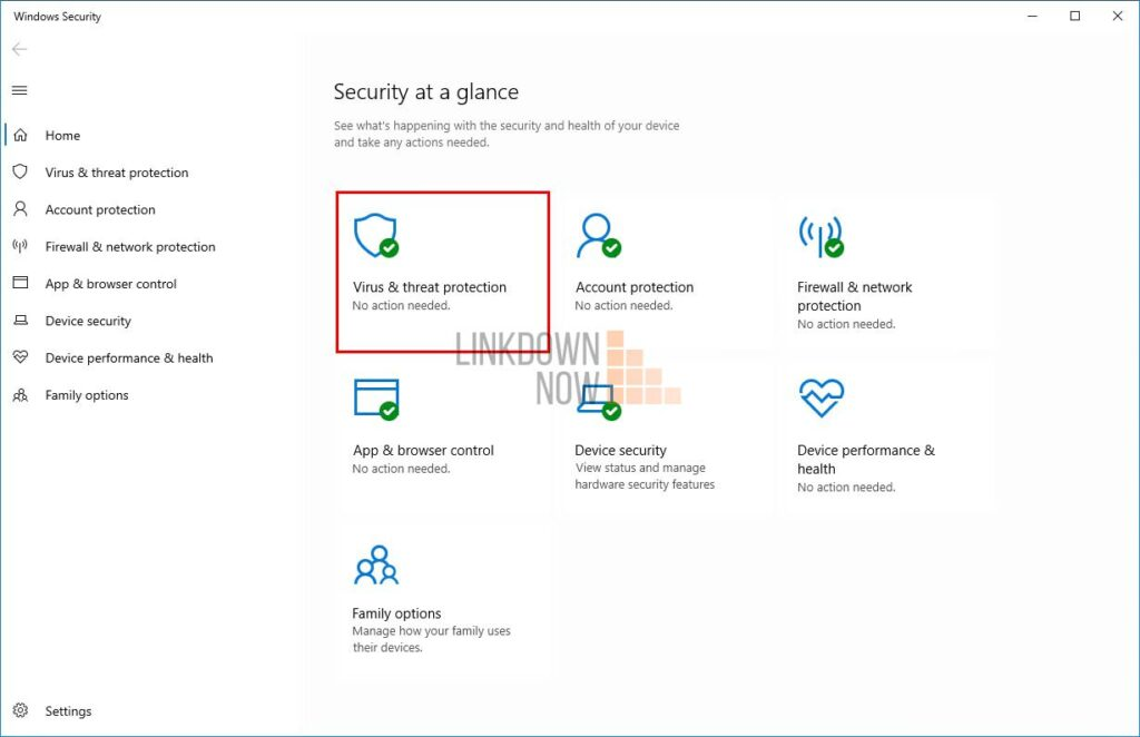 Tắt Windows Defender tạm thời trong Windows 10