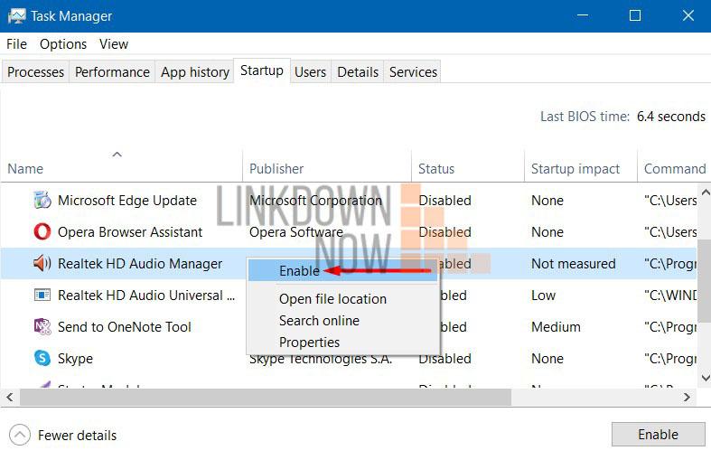 Mở Realtek HD Audio Manager qua Taskbar