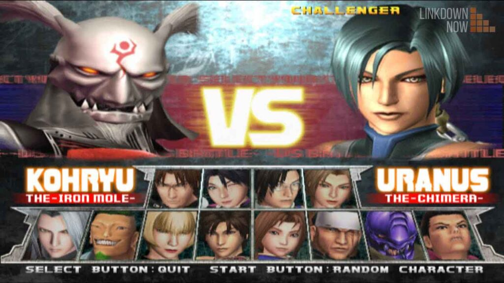 Chơi game Bloody Roar 3 trên PC
